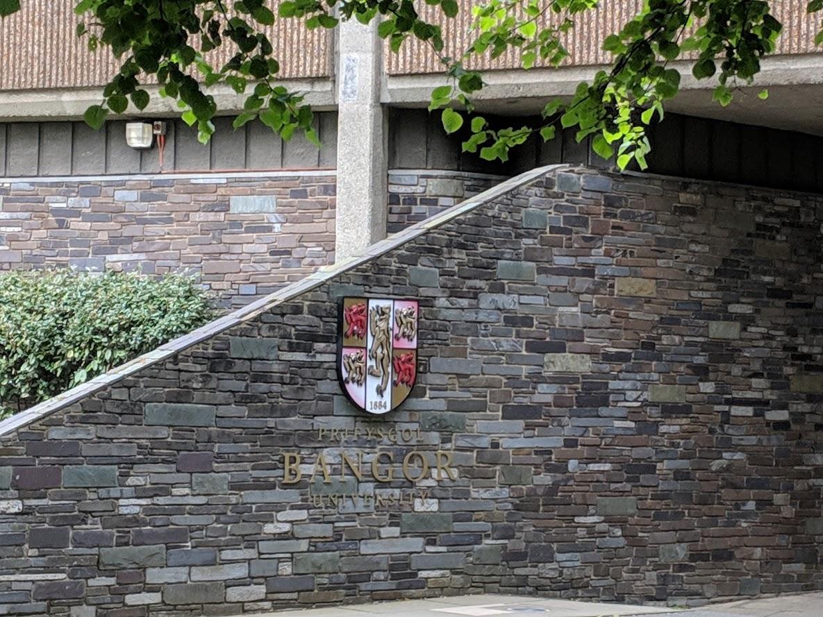 Bangor University shield